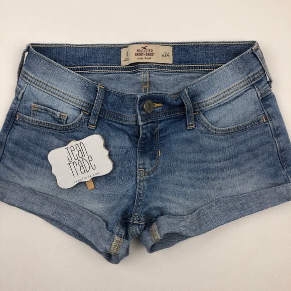 Hollister Pants - Hollister Short Short Low Rise Shorts 0/24